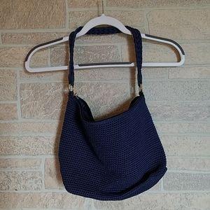 3 / $30 Lina Navy Blue Crochet Shoulder Bag/Purse